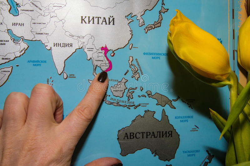 World map in russian language stock image image of travel finger download world map in russian language stock image image of travel finger 89493399 gumiabroncs Images