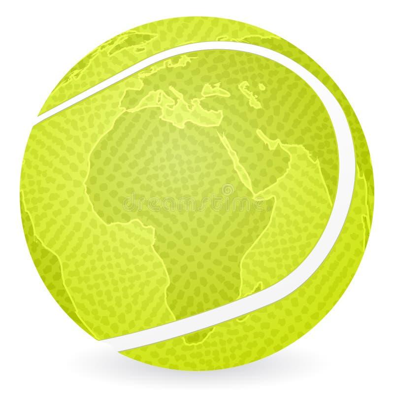 World map tennis ball stock vector illustration of europe 13009863 download world map tennis ball stock vector illustration of europe 13009863 gumiabroncs Images