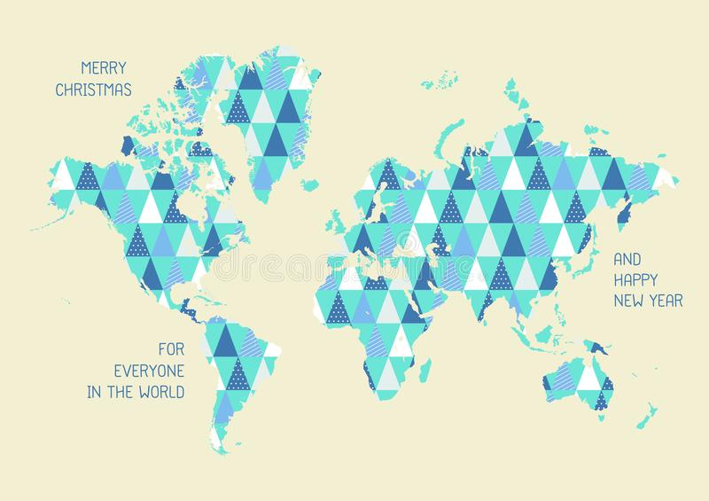 World map with triangle pattern stock vector illustration of download world map with triangle pattern stock vector illustration of planet happy 102468620 gumiabroncs Gallery