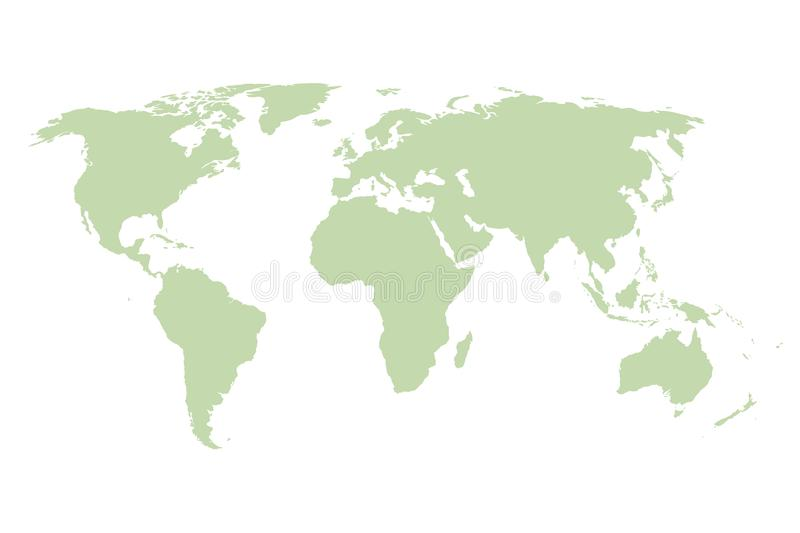 World map vector green template stock vector illustration of download world map vector green template stock vector illustration of infographics earth gumiabroncs Image collections