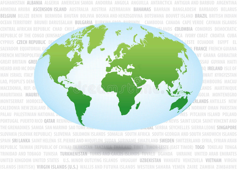 World Map2 Stock Images