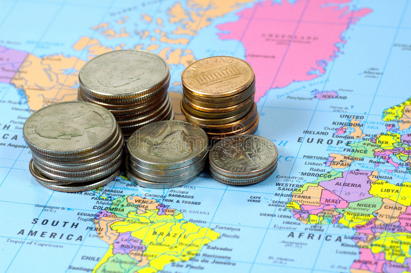 Download World Market stock image. Image of exchange, coins, financial - 106953