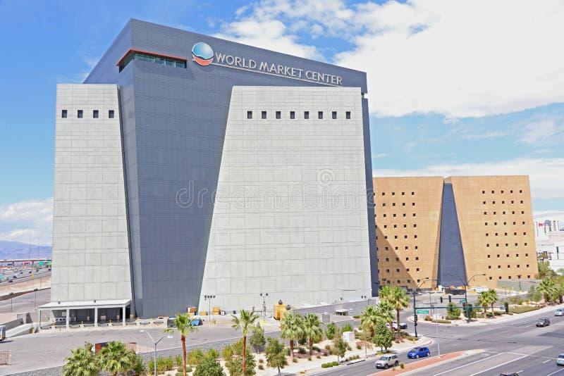 World market center building. The World Market Center building in Las Vegas stock photography