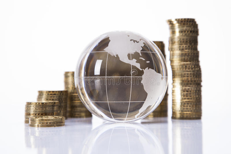 Download World and money stock image. Image of investing, object - 29126967