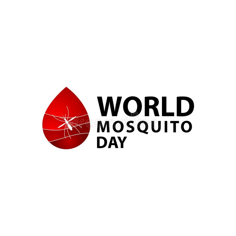 World Mosquito Day Celebration Vector Template Design Illustration. Malaria, insect, bite, stop, icon, background, virus, poster, care, medicine, protection vector illustration