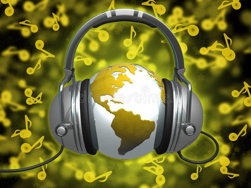 World Of Music Royalty Free Stock Image