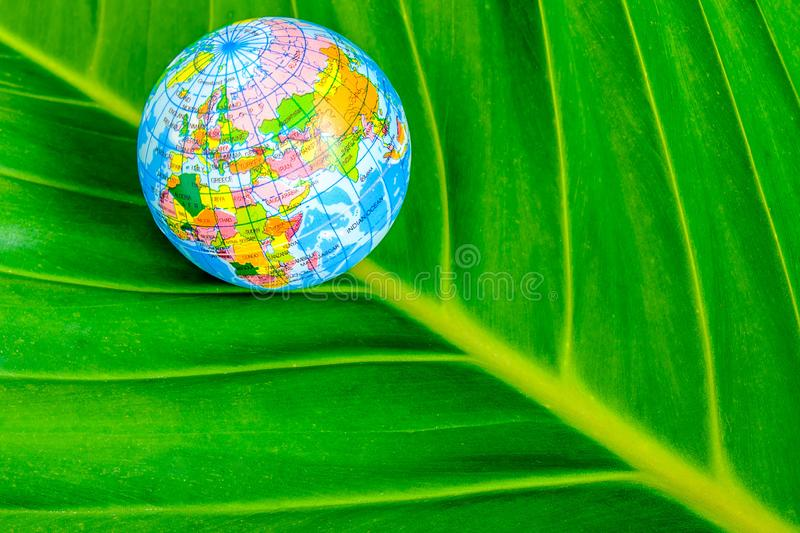 World with nature and love the world. royalty free stock photo