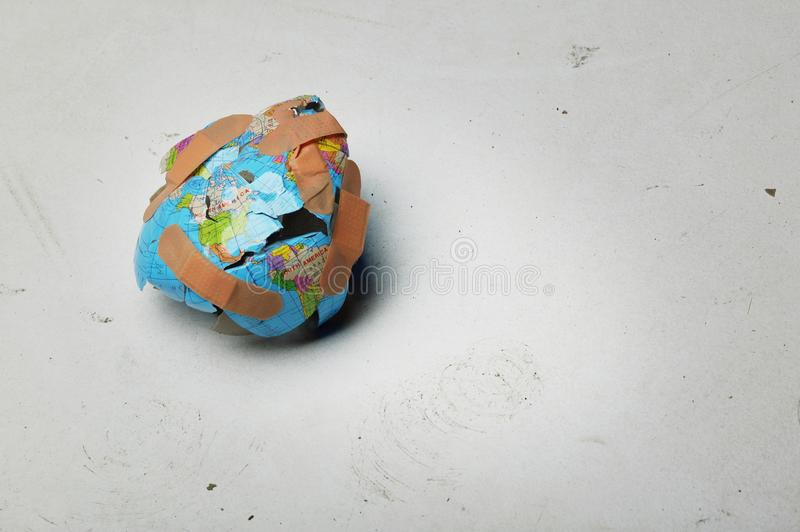 Download A World In Need Of Repair stock photo. Image of cutout - 17066780