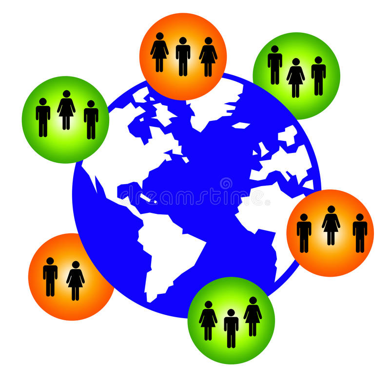 Download World network stock illustration. Image of globalization - 16622145