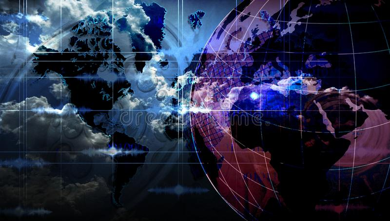 World network technology. global technology communication . World network technology. global technology communication. many uses for advertising, book page royalty free stock photos