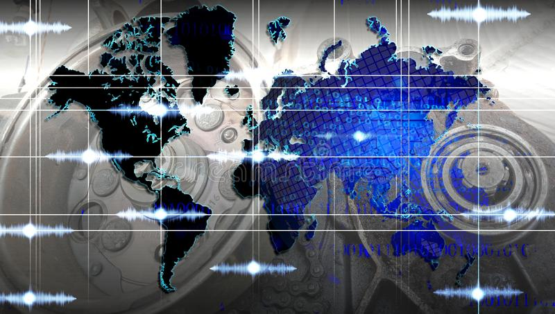World network technology. technology communication . World network technology. technology communication. many uses for advertising, book page, paintings royalty free stock photography