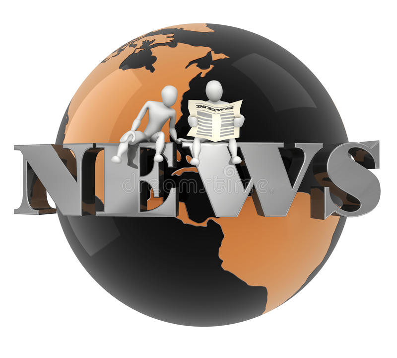 World News stock illustration