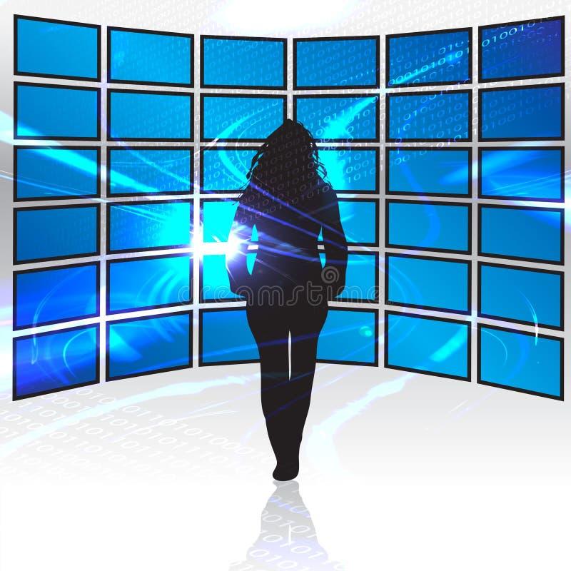 Free World Of Digital Media Stock Photography - 8516472