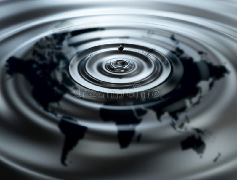 World oil vector illustration