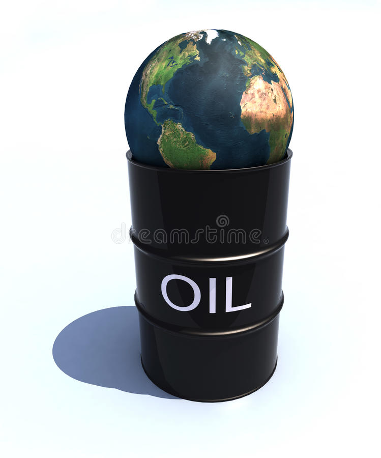 Download World oil stock illustration. Image of graphic, crude - 25078660
