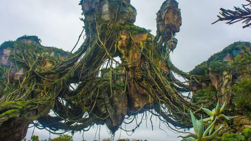 World of Pandora, Orlando royalty free stock photos