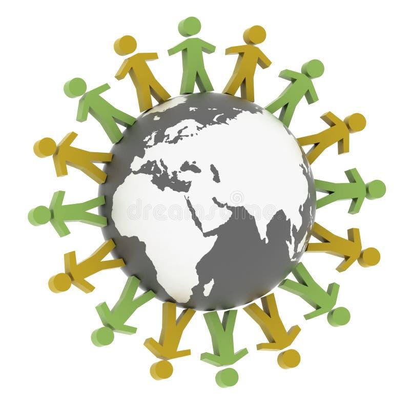 Download World partner concord stock illustration. Image of community - 20898766