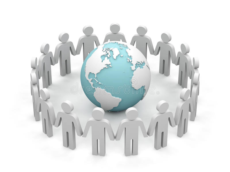 Download World Partnership. Royalty Free Stock Photography - Image: 14065727