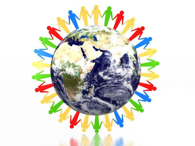 Download World partnership stock illustration. Illustration of couple - 6954362