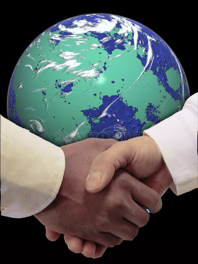 World peace. Conceptual image of world peace