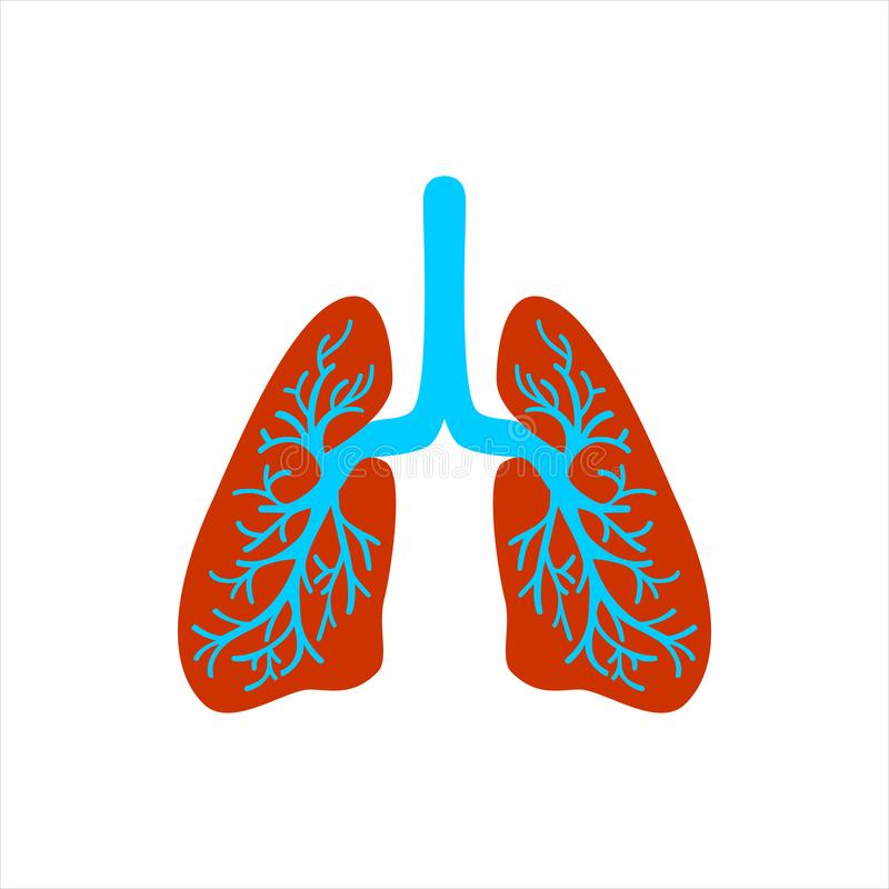 World Peneumonia day. World Tuberculosis Day. Lungs symbol. Breathing. Lunge exercise. Lung cancer asthma, tuberculosis, pneumoni vector illustration