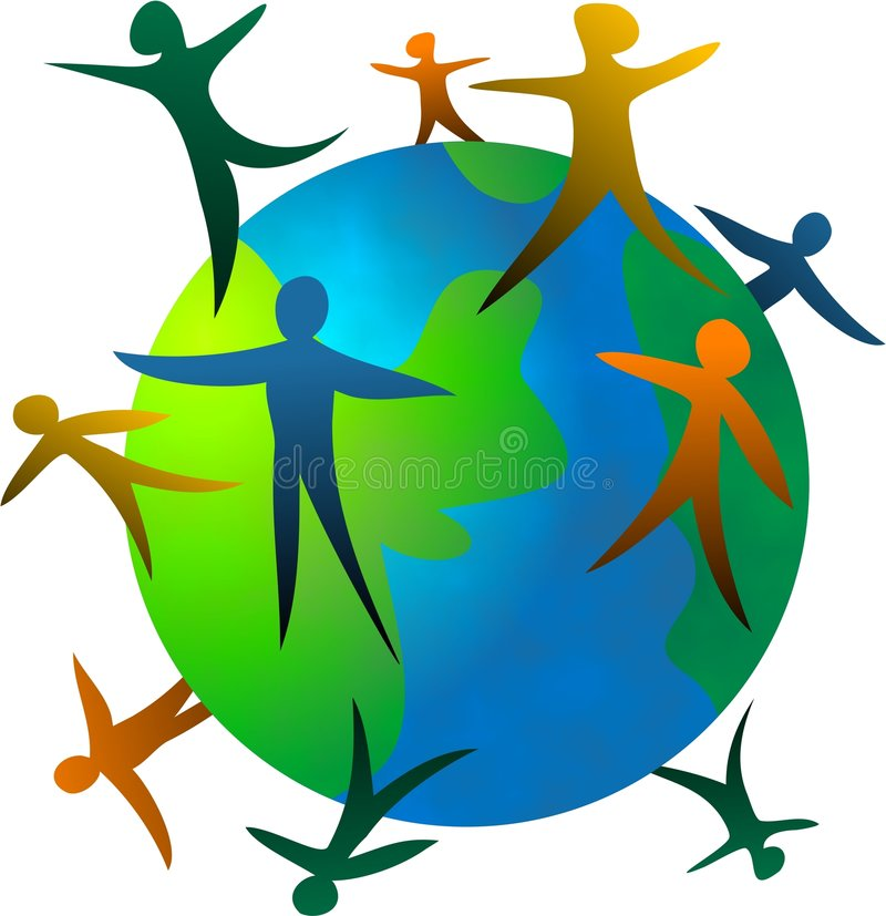 World People vector illustration