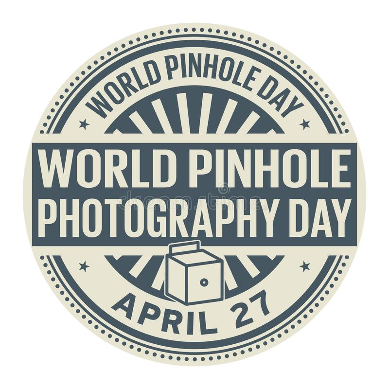 Download World Pinhole Photography Day Stock Vector