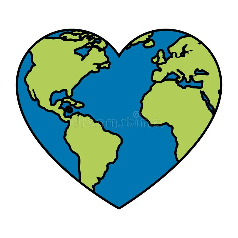 Earth Heart Shape Stock Illustrations – 2,101 Earth Heart ...