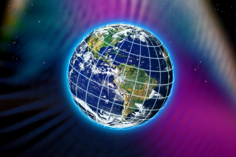 World Planet Earth vector illustration