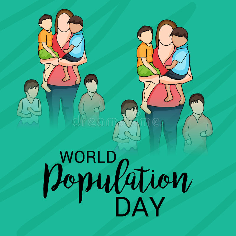 World Population Day. vector illustration