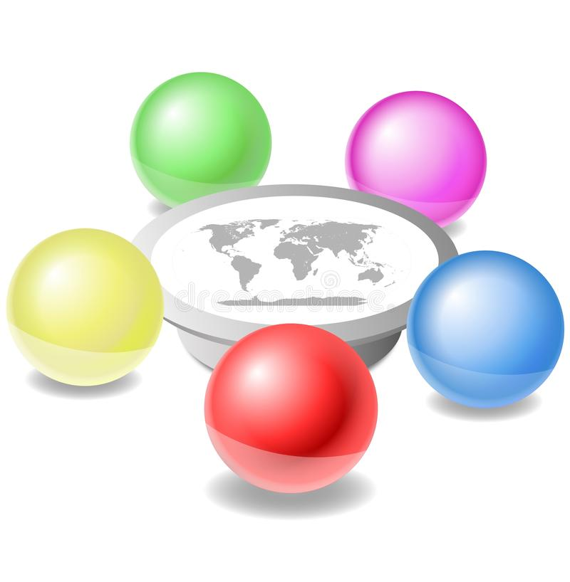 Download World Powers Meeting Royalty Free Stock Photography - Image: 19666607