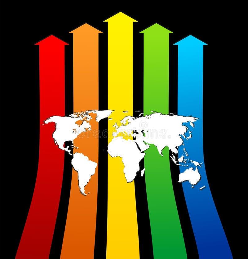 Download World progress stock vector. Illustration of green, corporate - 7596688