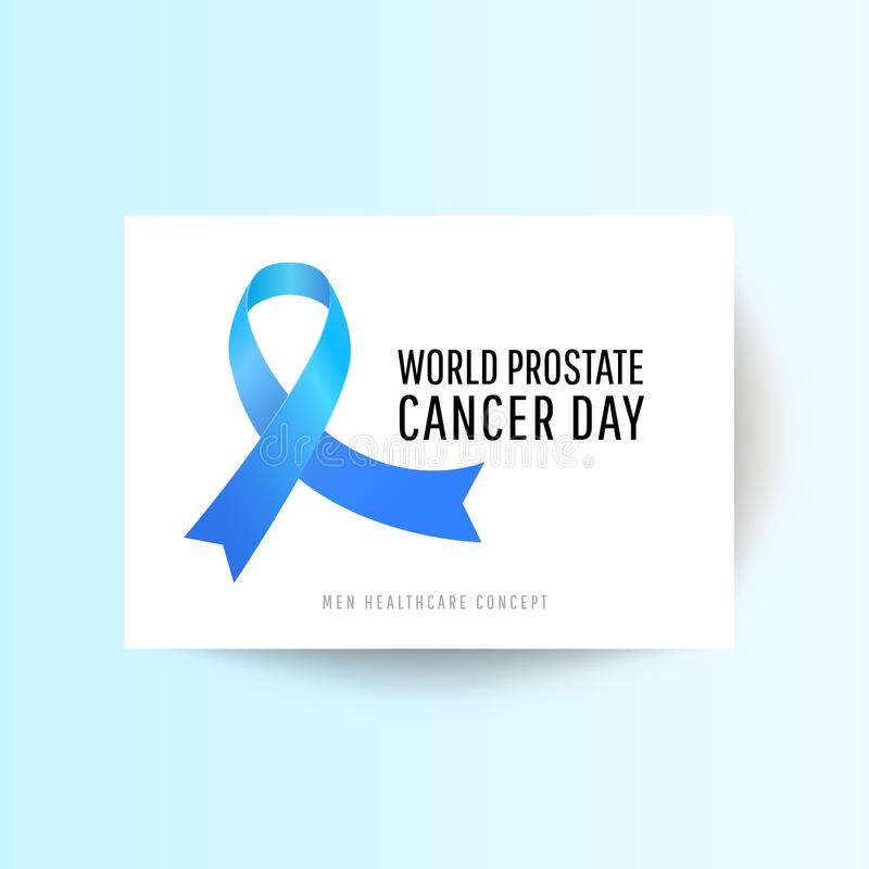 World Prostate Cancer Day royalty free illustration