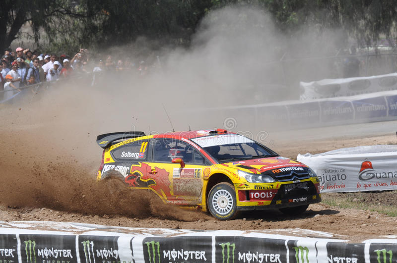World Rally Championship Mexico stock images