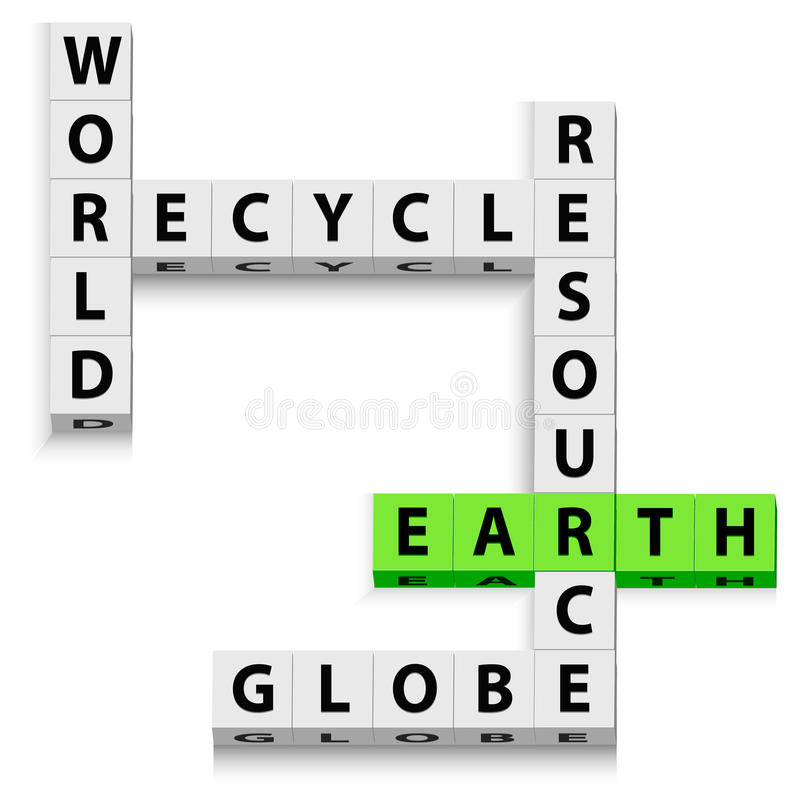 Free World Recycle Stock Images - 17547474