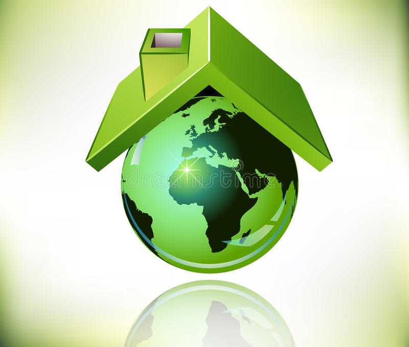 World roof vector illustration