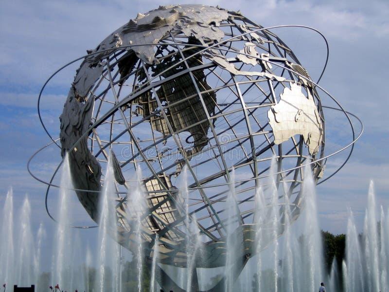 World's Fair Globe (next to US Open Tennis Center) royalty free stock photos