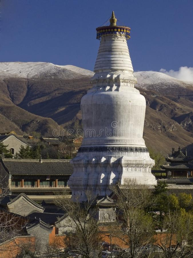 The world's largest Stupa royalty free stock photography