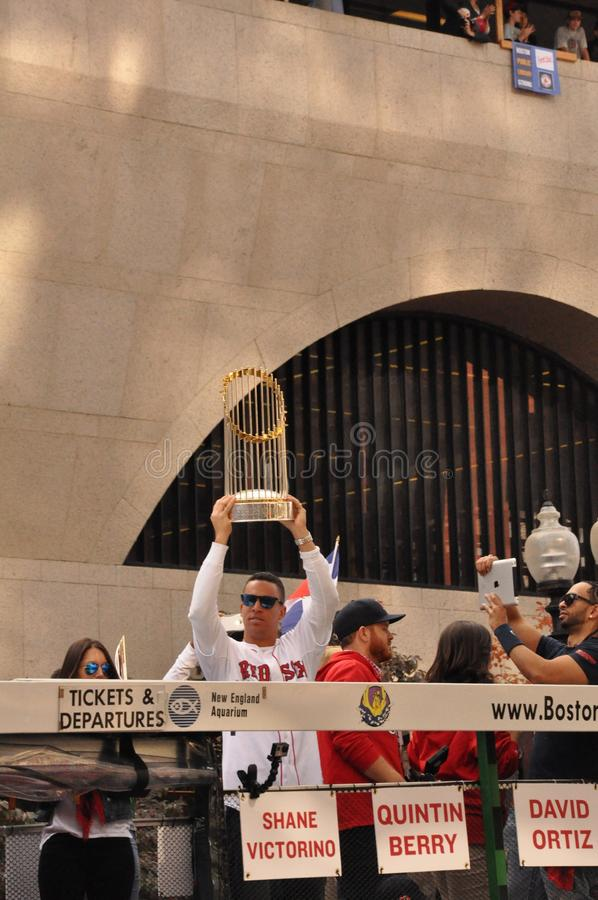 World Series Trophy royalty free stock photography