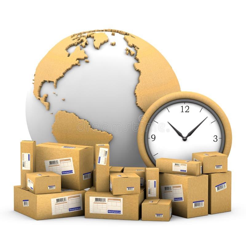World shipments. vector illustration
