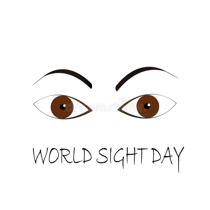 World Sight Day eyes concept. World Sight Day eyes illustration design Vector vector illustration