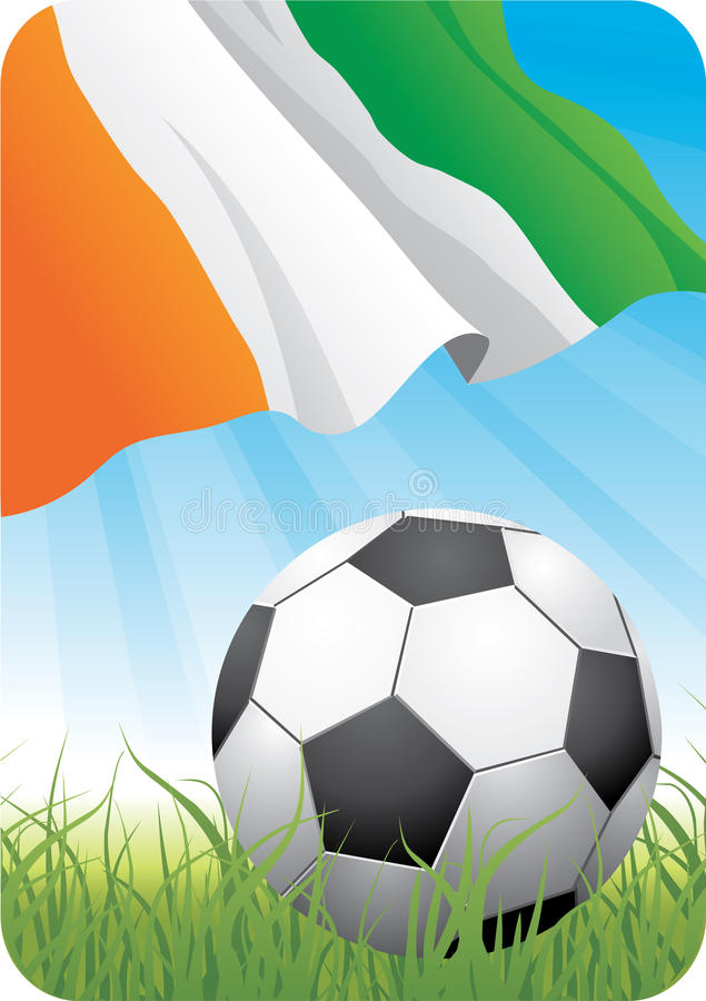 World soccer championship 2010 - Cote d'Ivoire royalty free stock image