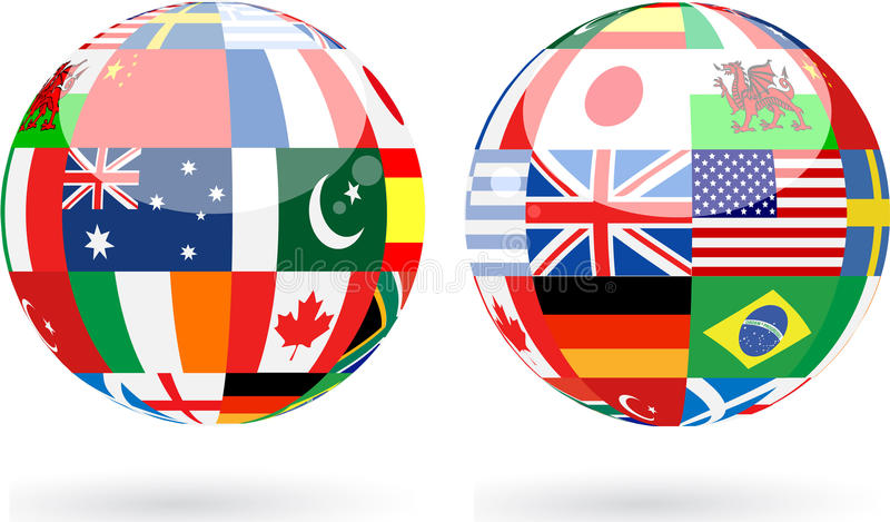 World Spheres Royalty Free Stock Photo