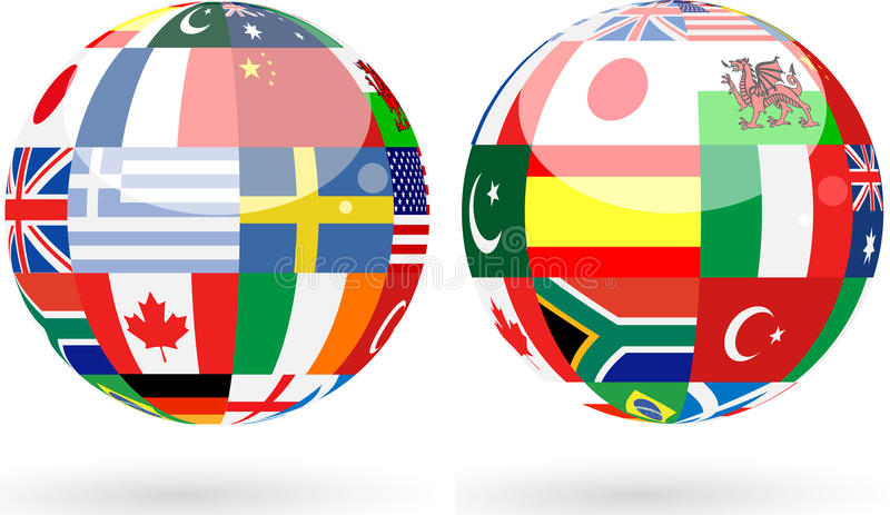 Download World Spheres Royalty Free Stock Images - Image: 12468489