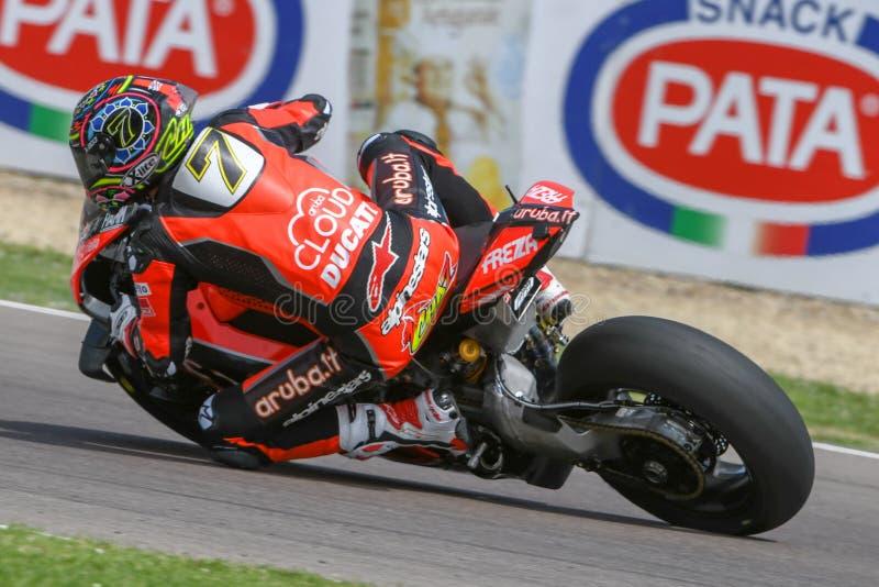World Superbike - SBK World Superbike Pirelli Italyn Round zdjęcia royalty free