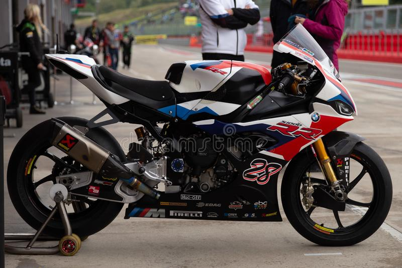 World SuperBike - SBK World Superbike Pirelli Italyn Round. Reiterberger 28 alessio bellanca  during World Superbike Pirelli Italyn Round , World SuperBike - SBK stock images