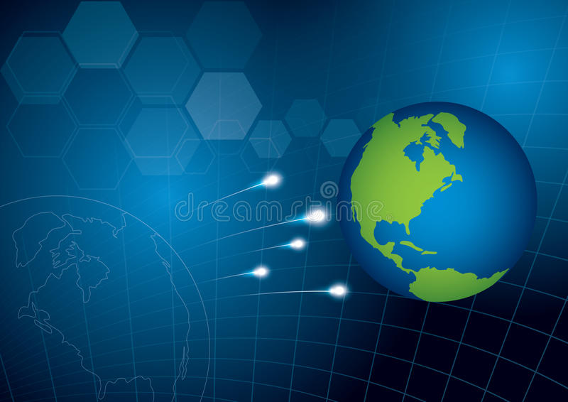 World Technology Concept Background Royalty Free Stock Photo