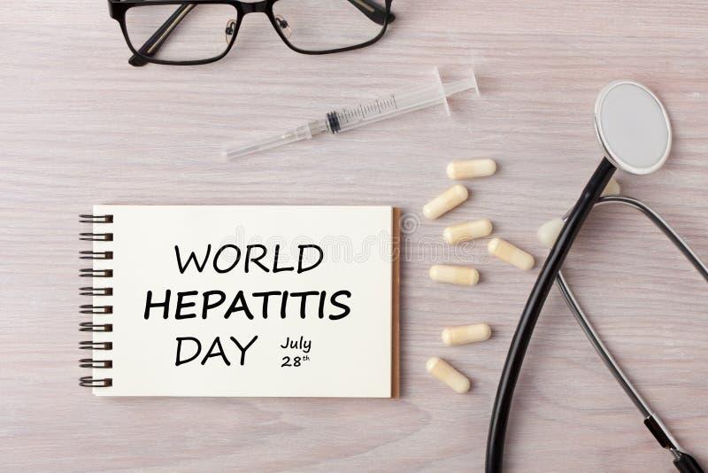 World Hepatitis Day stock images