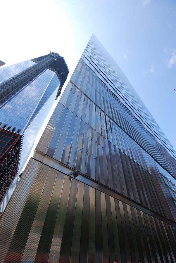 1 World Trade Center και World Trade Center 7 στοκ εικόνες