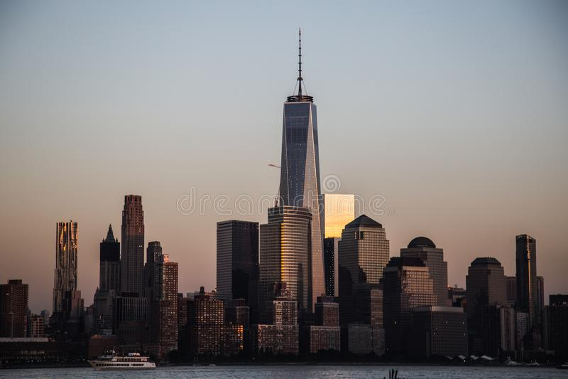 World Trade Center stockbilder